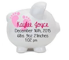 personalized baby piggy banks baby girl personalized piggy bank kids kids fashion kids