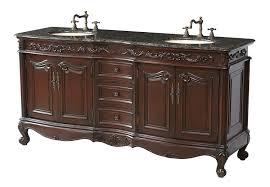 Large Bathroom Vanities by Stufurhome Gm 3323 72 Bb 72 Inch Saturn Double Vanity In Dark