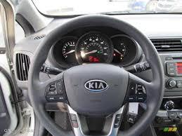 kia steering wheel 2012 kia rio ex black steering wheel photo 74176951 gtcarlot com