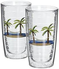 tervis tumbler 16 ounce palm trees and hammock 2