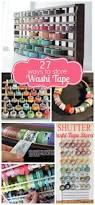 Halloween Washi Tape by Craftaholics Anonymous Washi Tape Storage Ideas