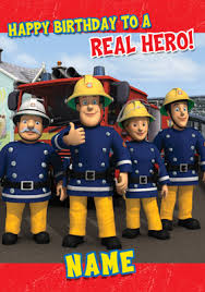 fireman sam birthday u0026 greeting cards funky pigeon