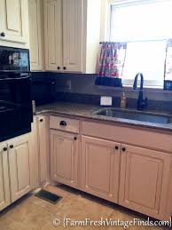 Cheap Kitchen Cabinet Refacing Kitchen Cabinet Refacing On A Budget Farm Fresh Vintage Finds
