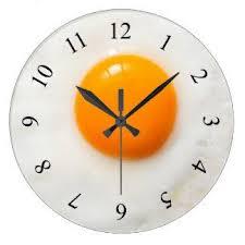 horloge murale de cuisine d oeuf au plat kitchen gadgets ouf