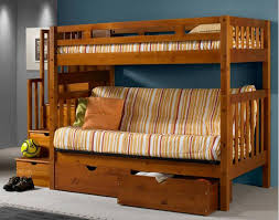 Bunk Bed With Sofa Bed Really Astonishing Designs Futon Bunk Bed With Stairs