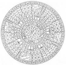 free printable mandala coloring pages for adults chuckbutt com