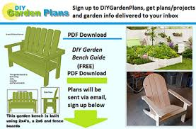 Free Plans For Garden Chair by Free Woodworking Projects Plans For Outdoor U0026 Indoor Projects