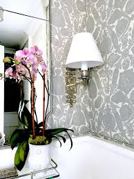 Elegant Powder Rooms Gorgeous New Gray And White Powder Room Classic Casual Home