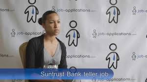 Bank Teller Course Online Suntrust Bank Interview Teller Youtube