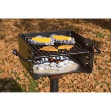 heavy duty park style charcoal grill review helpful reviews