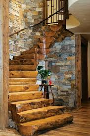 Log Floor by Devil U0027s Lake Residence Mn Lands End Development Georgiana