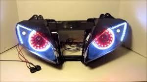 yamaha r6 halo lights download 2003 2009 yamaha r6 r6s 2 color changing remote control