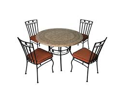 table ronde et chaises salon de jardin 4 chaises et 1 table ronde contact itec pro comex