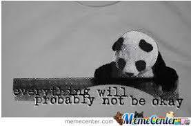 Sad Panda Meme - sad panda by hed meme center