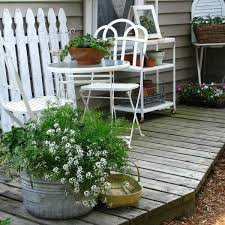 Shabby Chic Garden by Brilliant Shabby Chic Patio Ideas 17 Shab Chic Garden For Romantic