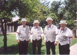 local singing telegrams barbershop quartets usa