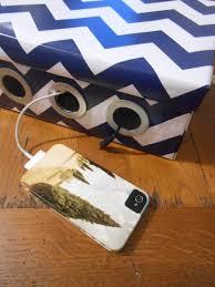 diy shoe box tech gadget charging station
