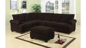 get bobkona miranda 3 piece reversible sectional with ottoman sofa