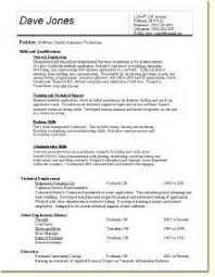 Sample Software Tester Resume by Sample Qa Resume Resume Format Download Pdf Resume Templates