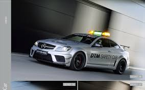 mitsubishi amg mercedes c63 amg black series dtm safety car 2012 widescreen