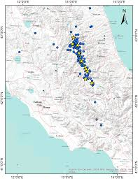 Norcia Italy Map Italian Earthquake Aftershocks Will Continue For Days Geologists