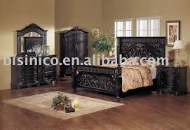 Black King Bedroom Furniture Sets Black King Bedroom Furniture Setsclassical Wooden Carving
