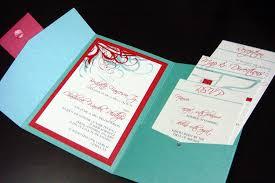 Red Wedding Invitations Aqua Tiffany Blue And Red Wedding Invitations Please Con U2026 Flickr