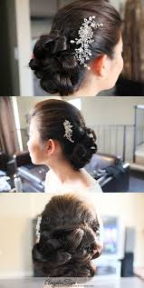 Los Angeles Hair Extensions by San Diego Wedding Asian Bridal Makeup Artist And Hair Stylist