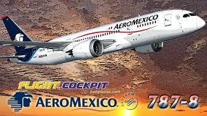 Press Advertising Aeromexico Multi Format Aeromexico Cockpit Boeing 787 Dreamliner