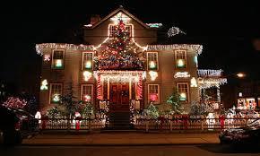 outdoor christmas light decorations exterior christmas lights ideas multicolor fairy lights 49
