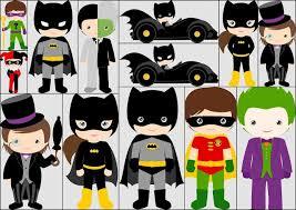 superhero kids clipart free