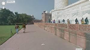 Map Street View Google Map Added 360 Degree 3d Street View Of Taj Mahal