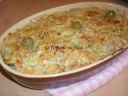 recette de cuisine alg駻ienne gratins gratin de thon légumes de pommes de terre frites en cubes la