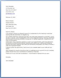 Cover Letter For Resume Download by Veterinarian Cover Letter Sample Vet Cover Letter Vet Tech Resume