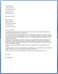 Vet Assistant Resume Zoo Cover Letter Sample Sample Essays And Scoring Guide