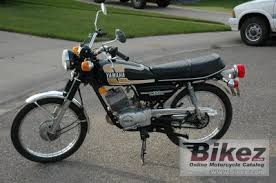 1975 yamaha rs 100 specifications and pictures