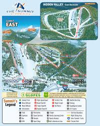 Colorado Ski Resort Map by Trail Maps Summit At Snoqualmie