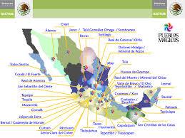 Michoacan Map Mexico Turismo Mapa