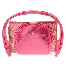 makeup bag pink glitter makeup bag set s us