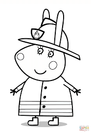 miss rabbit coloring page free printable coloring pages
