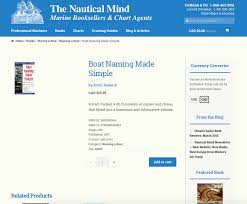 the nautical mind built with woocommerce