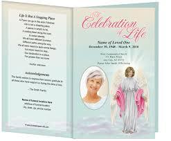 6 best images of free printable funeral memorial card template