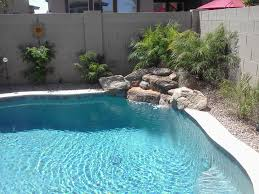 building a rock water feature by pool google search ideas for