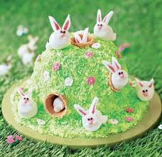 easter bunny cake ideas showstopping bunny cake asda living