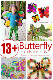 13 butterfly crafts easy u0026 awesome preschool powol packets