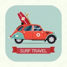 surf car european surf car u2014 stock vector masha tace 64600511