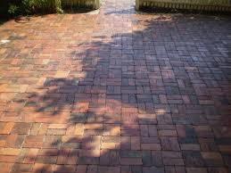 brick patios used patio extension to deck garden pinterest unusual