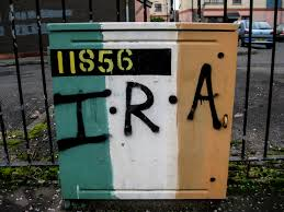 Irish Republican Army Flag The Rocky Road To Belfast Back Home In Free Derry Between