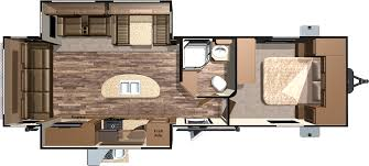 Keystone Floor Plans by Trailer Floor Plans 2016 Roamer Travel Trailers By Highland Ridge