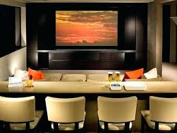 How To Decorate Home Theater Room Home Theater Decor Theatre Room Wall Cozy Home Theater